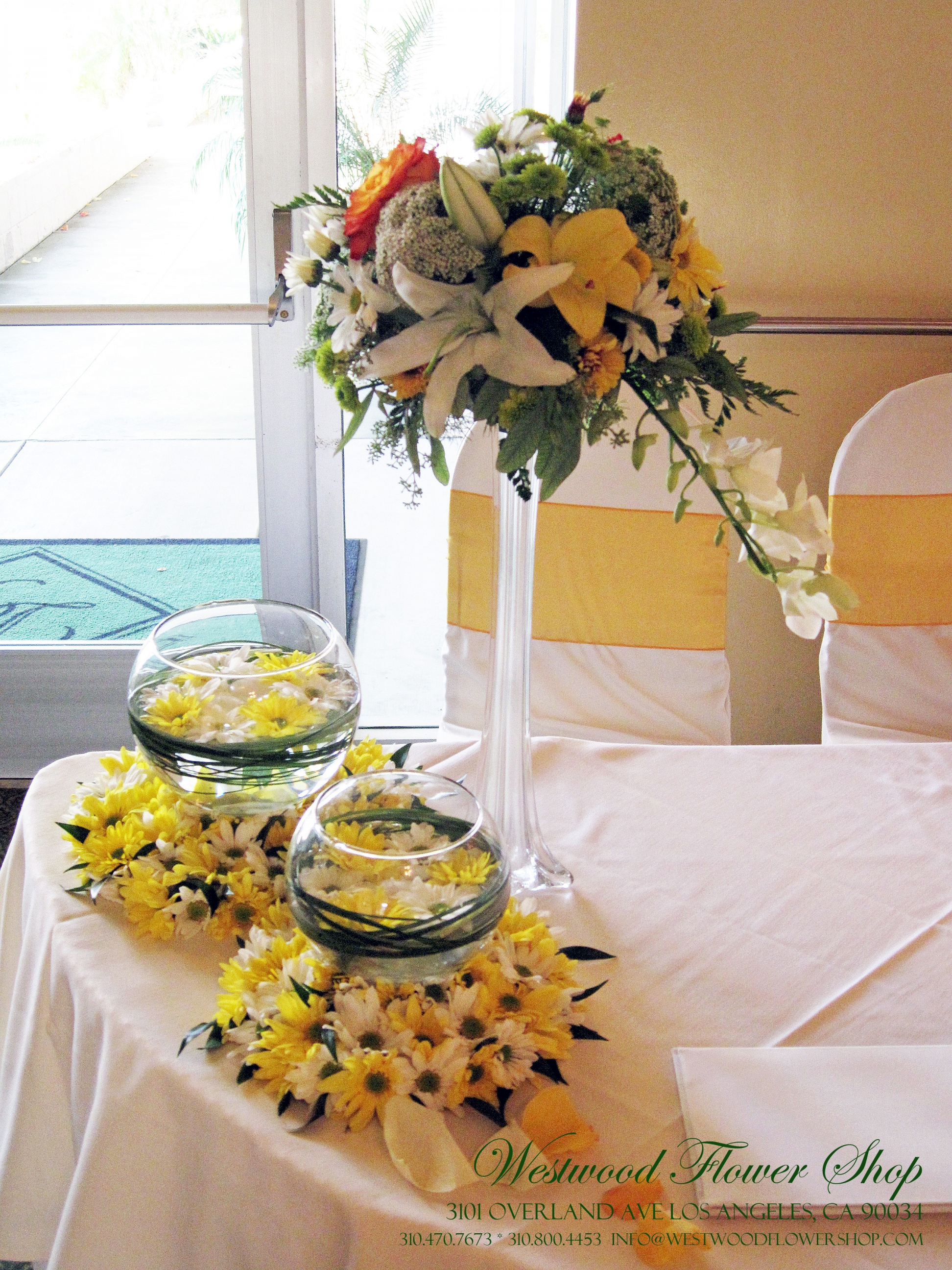 Westwood flower shop your event specialist in los angeles we make each and every year memorable as we create lavish table centerpieces filled with celebrants favorite flowers and themed color junglespirit Image collections